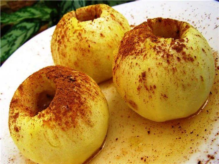 Рецепт запеченные яблоки с медом и корицей в духовке