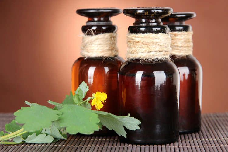 Настойка сока чистотела с медом