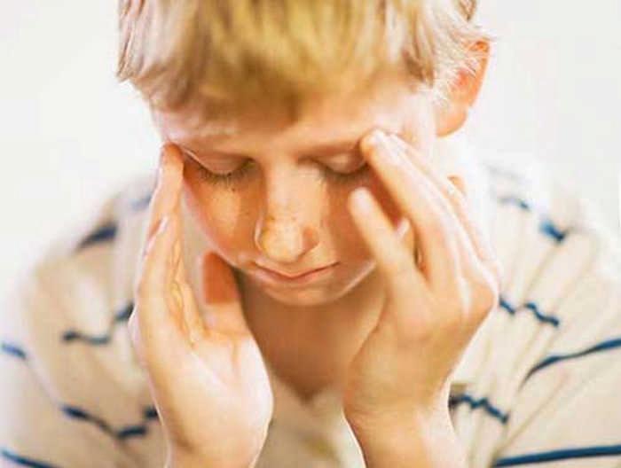 Причины головокружения у детей