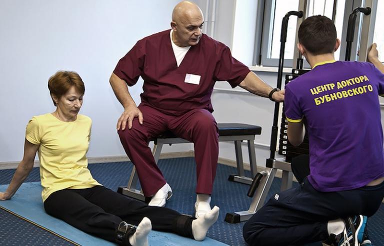 Лечебные упражнения при шейном остеохондрозе