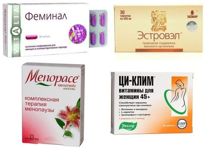 Препараты при климаксе: лечение и отзывы