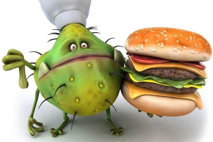Отравление продуктами питания: первая помощь