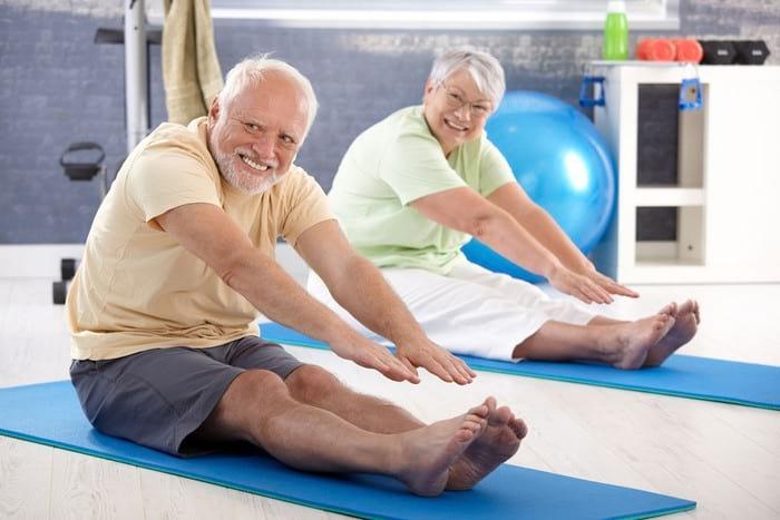 гимнастика для суставов у пожилых