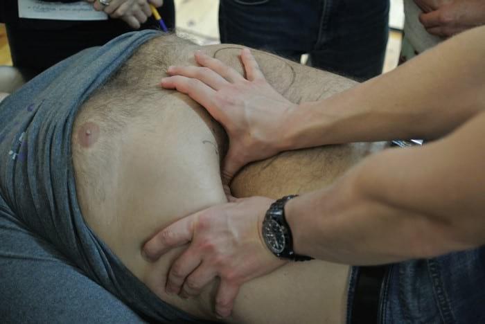 Зачем нужен и как делать висцеральный массаж внутренних органов