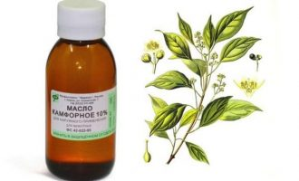 Применение камфорного масла: какие заболевания лечит
