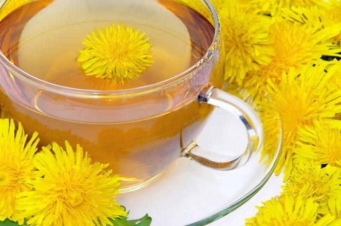 Противовоспалительный и похудательный чай из корня одуванчика