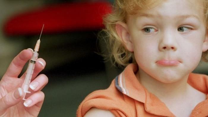 Прививка АКДС детям