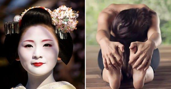 Японская национальная гимнастика Макко хо