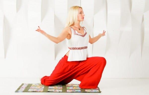 Cлавянская гимнастика для женщин