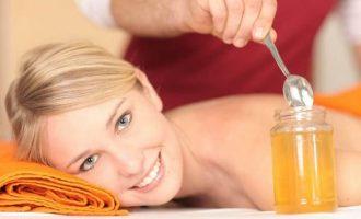 Как делать медовый массаж