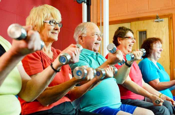 Лечебная физкультура для пожилых