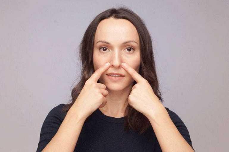 Убрать носогубные морщины