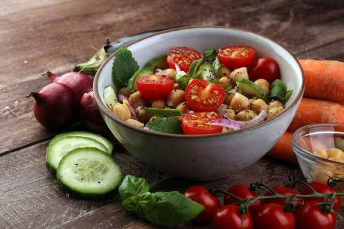 Вегетарианская диета для похудения и оздоровления