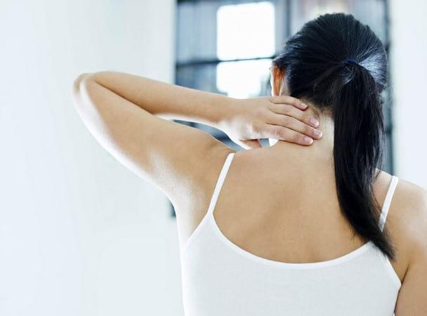 Воротниковая зона спины