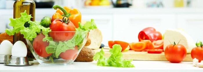 овощи и яйца