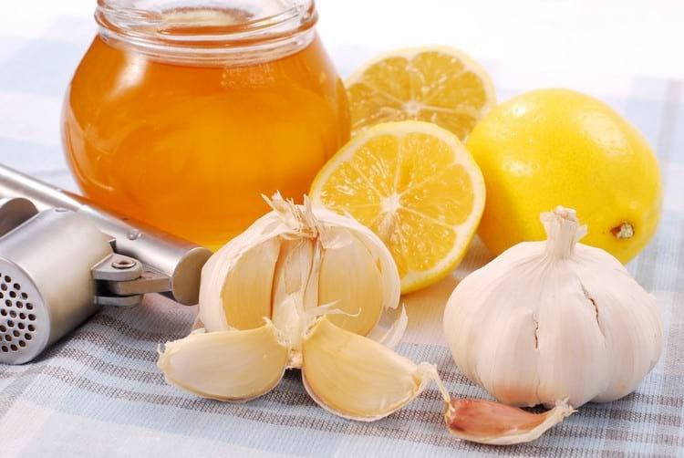чеснок лимон мед для чистки сосудов