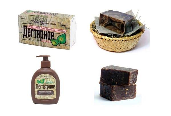 Применение дегтярного мыла в лечебных и косметических целях