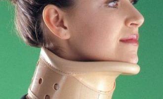 Как подобрать шейный воротник при остеохондрозе