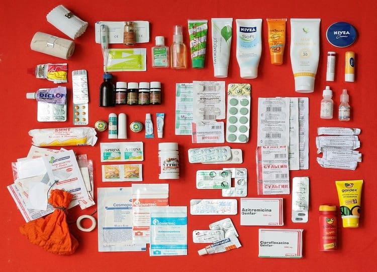 Что должно быть в аптечке