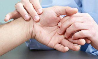 как убрать шишки на пальцах рук