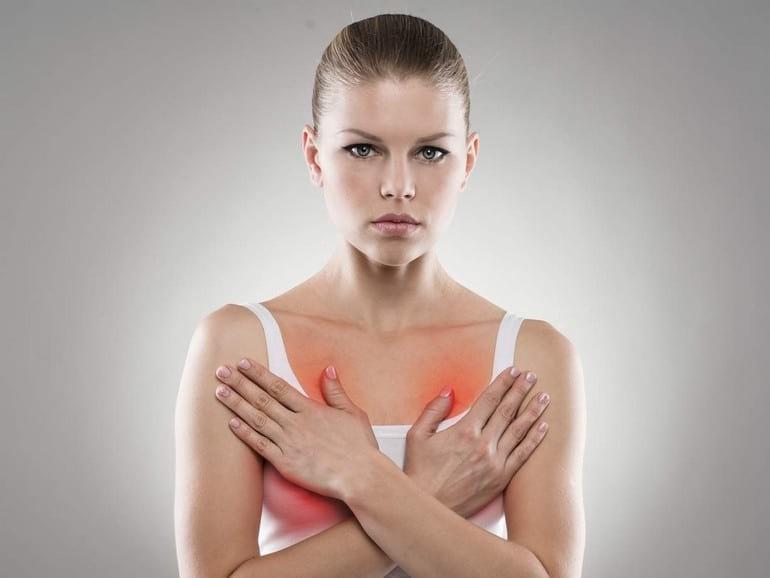 10 причин почему болит грудь у женщин