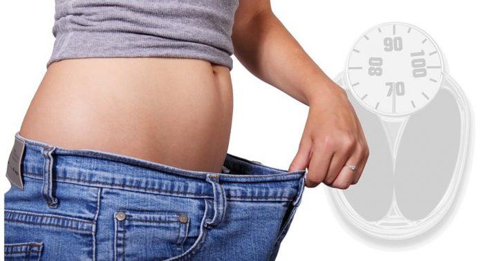 снижение веса, джинсы велики