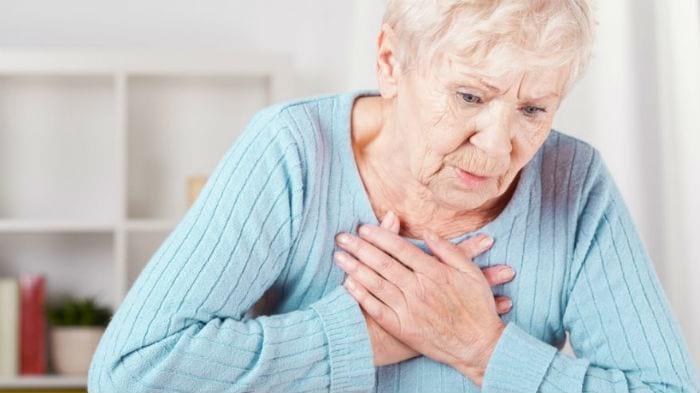 одышка у пожилой женщины