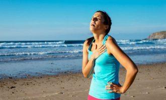 одышка при ходьбе и физической нагрузке