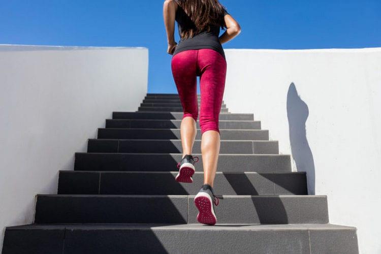 Польза от ходьбы по лестнице